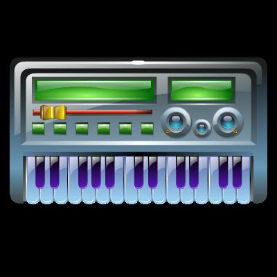 Instrument, Keyboard, Midi Icon