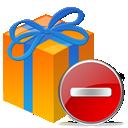 Delete, Gift, Present, Remove Icon