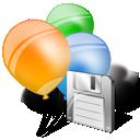 Folder, Save Icon