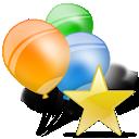 Ballon, Ballons, Star Icon
