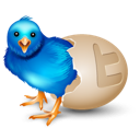 Bird, Egg, Twitter Icon