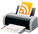 Feed, Printer, Rss Icon