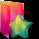 Aurora, Favorites, Folder, Star Icon