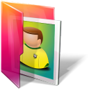 Aurora, Folder, Photo, Pictures Icon