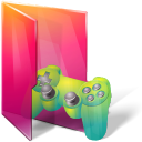 Aurora, Controller, Folder, Games Icon