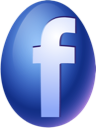 Easter, Egg, Facebook Icon