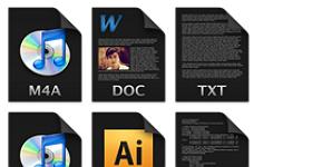 Filecons Dark Icons