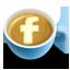 Fb, Latte, Social Icon