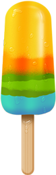 Colorful, Icecandy Icon