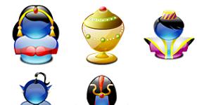Aladdin Lumina Icons