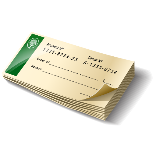 Book, Check, Cheque, Payment Icon