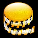 Caution, Tape Icon