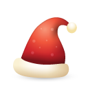 Christmas, Hat Icon