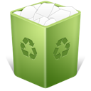 Bin, Full, Recycle, Trash Icon