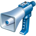 Comments, Megaphone Icon