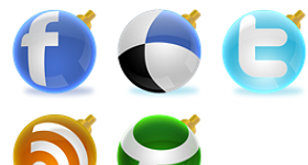 Shiny Social Ball Icons