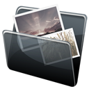 Dock, Folder, Hp, Pictures Icon