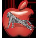 Appleleopardred Icon