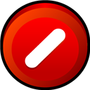 Button, Cancel Icon