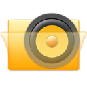Folder, Speaker Icon