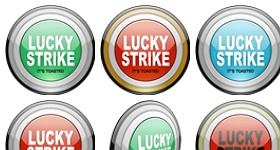 Lucky Strike Icons