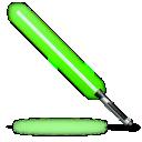 Green, Light, Saber, Star, Wars Icon