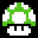 1up, Mushroom, Retro Icon