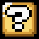 Block, Question, Retro Icon