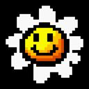 Flower, Retro, Yoshi Icon
