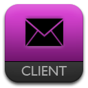 Mail, Purple Icon