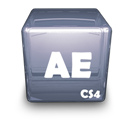 Adobe, Ae, Cs Icon