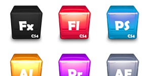 Adobe CS 4 Suite Icons