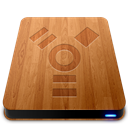 Drives, Firewire, Slick, Wooden Icon