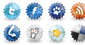 Social Grunge Icons