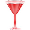 Red, Wineglass Icon