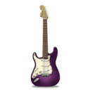 Guitar, Pink, Stratocaster Icon