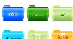 Colorflow Torrent Icons