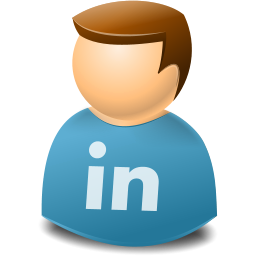 Icontexto, Linkedin, User, Web Icon