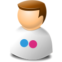 Flickr, Icontexto, User, Web Icon