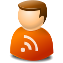 Icontexto, Rss, User, Web Icon
