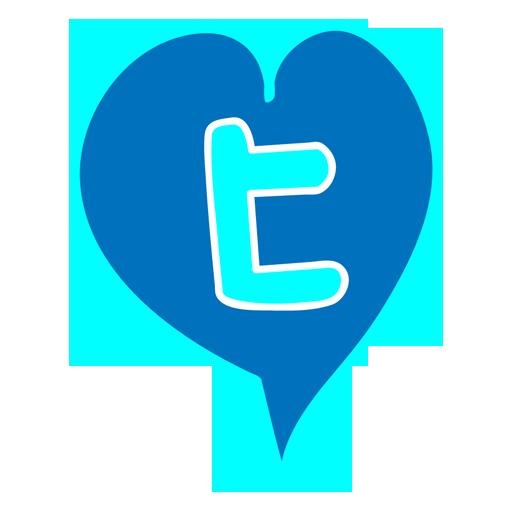 Heart, Tweete Icon
