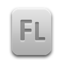File, Fla, Flash Icon