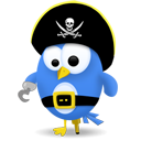 Pirate, Twitter Icon