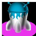 Rocket, Spaceship Icon