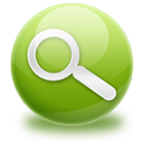 Find, Green, Search, Zoom Icon