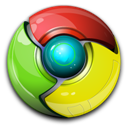 Chrome, Google, Standard Icon