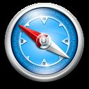 Blue, Classic, Safari Icon