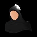 Muslim, Woman Icon