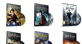 Harry Potter Games Icons