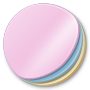 Round, Stickers Icon